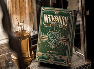 Колода Green National Playing Cards купить