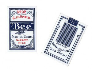 Bee Bridge Size Cards Blue картинка