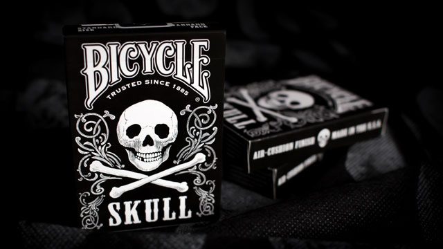 Колода карт Bicycle Skull картинка