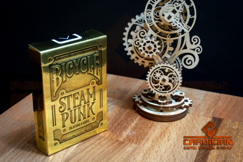 Карты Bicycle Steampunk GOLD картинка