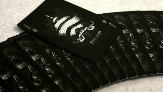 Arcane Black Invisible Deck картинка