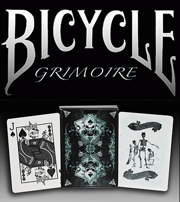 Карты Bicycle Grimoire картинка