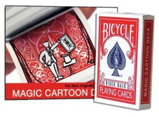 Bicycle Magic Cartoon Deck купить