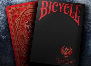 ��������� ����� Bicycle Scarab Red ������