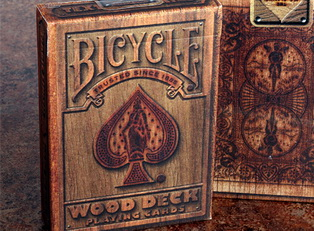 Карты Bicycle Wood купить