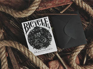 Колода Bicycle Dragonlord White Edition  купить