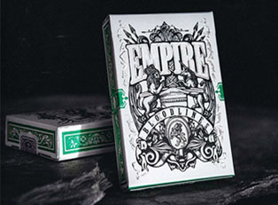 Колода Empire Bloodlines (Emerald Green) купить