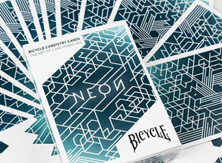 Карты Bicycle Neon Cardistry купить