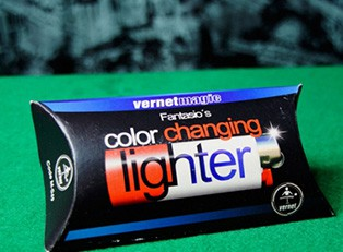 Фокус Color Changing Lighter купить