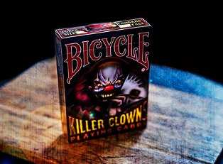 Колода Bicycle Killer Clowns  купить