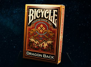 Колода Bicycle Dragon Back Gold купить
